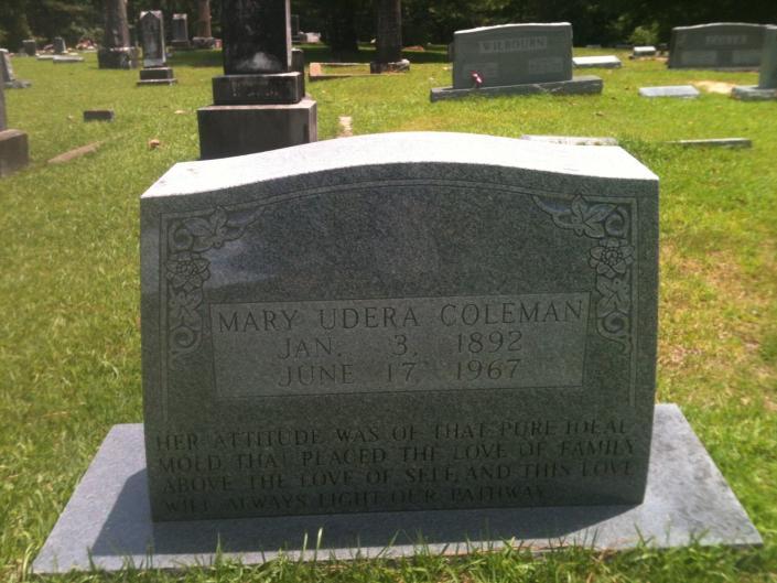 Coleman Single Monument